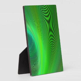Magical green plaque
