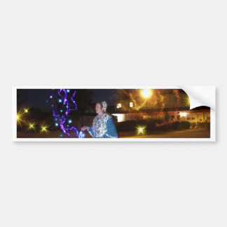 Magical Haunted Dahlonega- Spirits, Legends &Lore Bumper Sticker