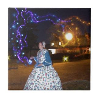 Magical Haunted Dahlonega- Spirits, Legends &Lore Ceramic Tile