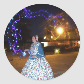 Magical Haunted Dahlonega- Spirits, Legends &Lore Classic Round Sticker