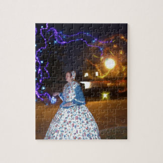 Magical Haunted Dahlonega- Spirits, Legends &Lore Jigsaw Puzzle