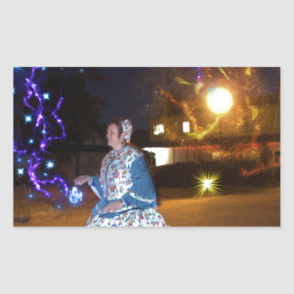 Magical Haunted Dahlonega- Spirits, Legends &Lore Rectangular Sticker
