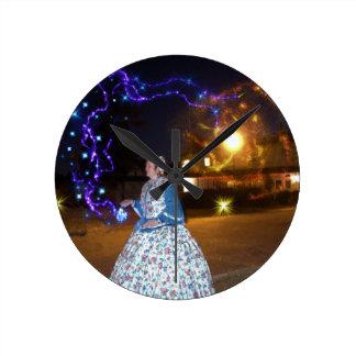 Magical Haunted Dahlonega- Spirits, Legends &Lore Round Clock