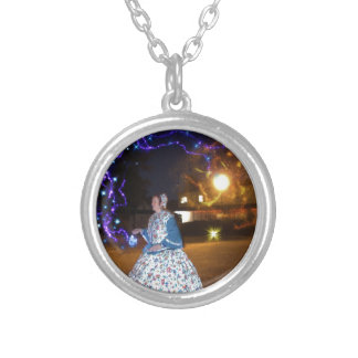 Magical Haunted Dahlonega- Spirits, Legends &Lore Silver Plated Necklace