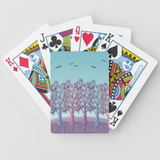 Magical hill poker deck