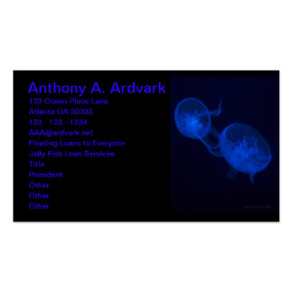 Magical Jelly Fish Pack Of Standard Business Cards