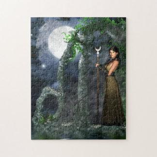 Magical Jigsaw - Moon Goddess (Selene) Jigsaw Puzzle