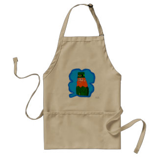 Magical Leprechaun Standard Apron