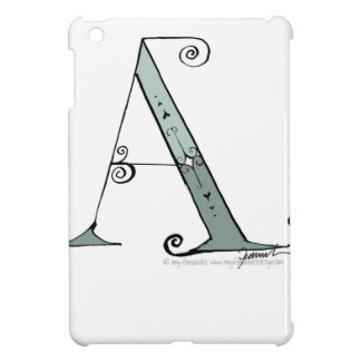 Magical Letter A from tony fernandes design Case For The iPad Mini