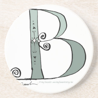 Magical Letter B from tony fernandes design Coaster