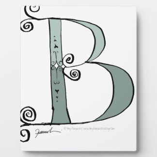 Magical Letter B from tony fernandes design Photo Plaques