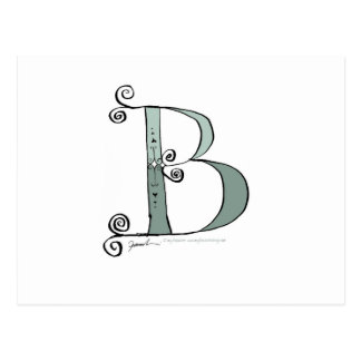 Magical Letter B from tony fernandes design Postcard
