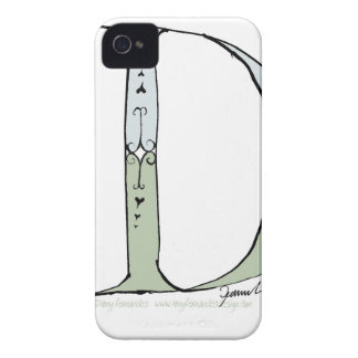 Magical Letter D from tony fernandes design iPhone 4 Case
