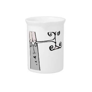 Magical Letter E from tony fernandes design Pitcher