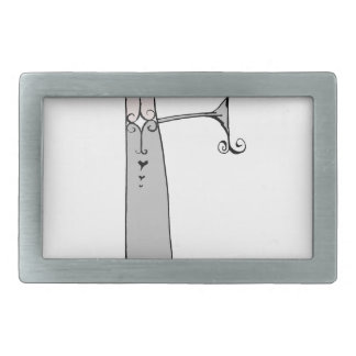 Magical Letter F from tony fernandes design Belt Buckle