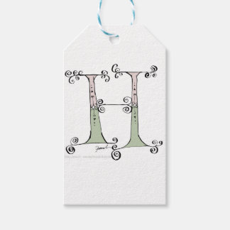 Magical Letter H from tony fernandes design Gift Tags