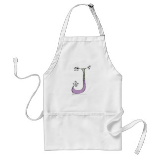 Magical Letter J from tony fernandes design Standard Apron