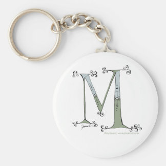 Magical Letter M from tony fernandes design Key Ring