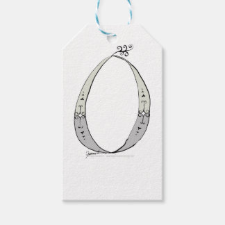 Magical Letter O from tony fernandes design Gift Tags
