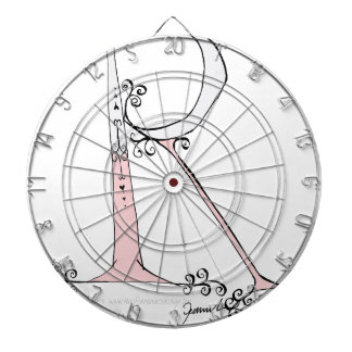 Magical Letter R from tony fernandes design Dart Board