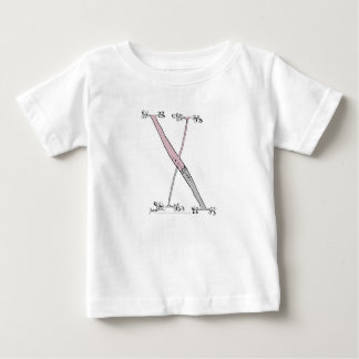 Magical Letter X from tony fernandes design Baby T-Shirt