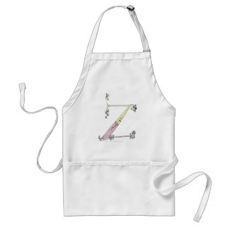 Magical Letter Z from tony fernandes design Standard Apron