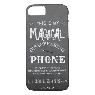 Magical Lost Black Funny Humorous Typography iPhone 8/7 Case