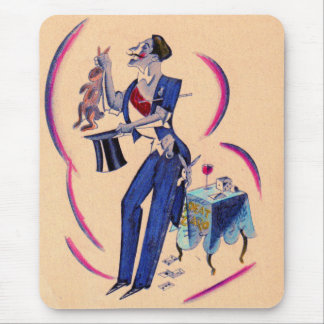 magical magician mouse pad