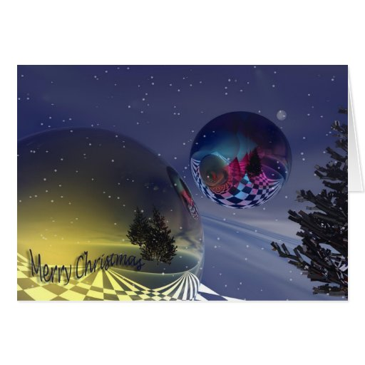 Magical Merry Christmas card