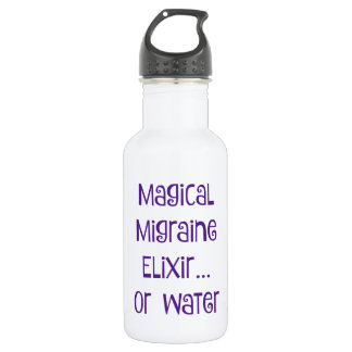 Magical Migraine Elixir.... water 532 Ml Water Bottle