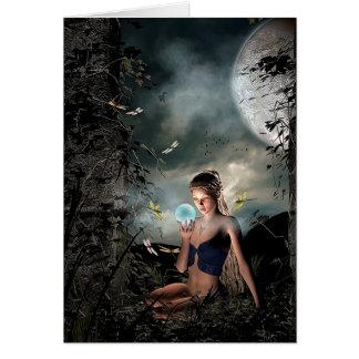 Magical Mystical Fairy Magic Crystal Ball Card