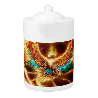 Magical & Mystical Fantasy Flying Fire Phenix