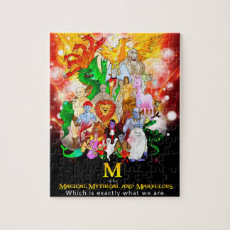 Magical Mythical and Marvelous Creatures Puzzle