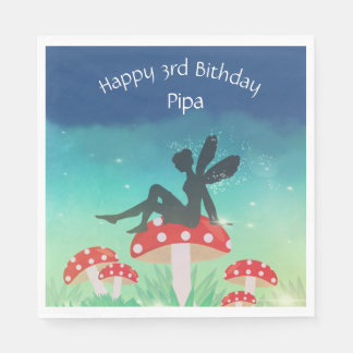 Magical Night Garden Paper Napkins