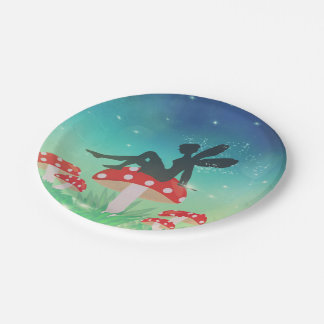 Magical Night Garden Paper Plate
