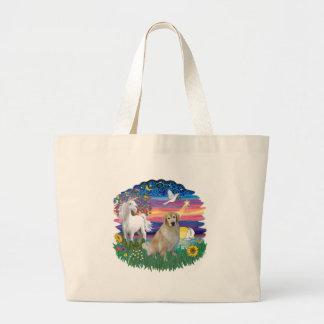 Magical Night - Golden Retriever (#10) Bags