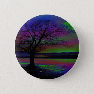 Magical Night Time 6 Cm Round Badge