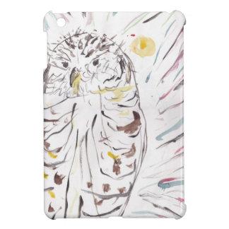 Magical Owl Colourful Watercolour Painting iPad Mini Cover