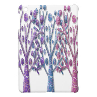 Magical pastel trees iPad mini cover