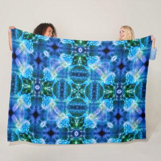 Magical Pegasus Moon Mandala Fleece Blanket