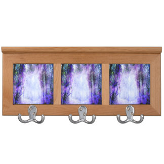Magical Portal in the Forest Coat Racks