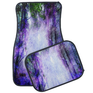 Magical Portal in the Forest Floor Mat