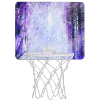Magical Portal in the Forest Mini Basketball Hoop