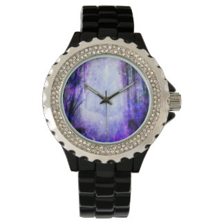 Magical Portal in the Forest Wristwatch