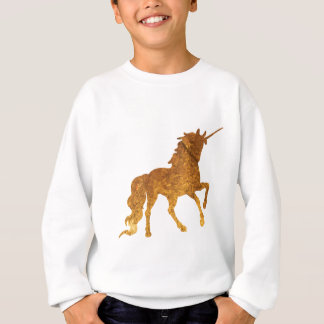 Magical Prancing golden Unicorn various colors Sweatshirt