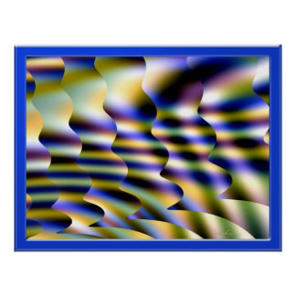 Magical Psychedelic Trance Scenery Print