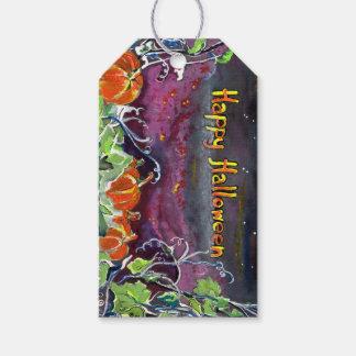 Magical Pumpkins Halloween Hanging Gift Tag