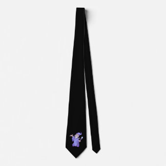 Magical purple wizard magician sorceress tie