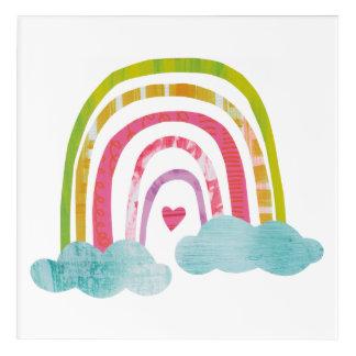 Magical Rainbow Acrylic Wall Art