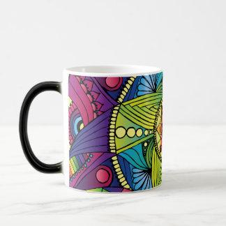 Magical Rainbow Mandala Mug